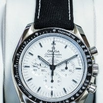 Omega Steel Manual winding White No numerals 42mm new Speedmaster Professional Moonwatch