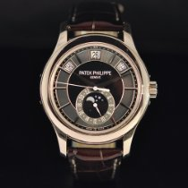 Patek Philippe Annual Calendar White gold 40mm Black No numerals