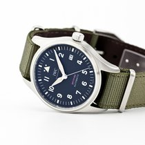 IWC Pilot Steel 39mm Black