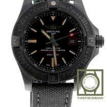 Breitling Titane Remontage automatique Noir 44mm nouveau Avenger Blackbird 44