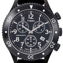 Timex new Quartz 42.5mm Steel Mineral Glass