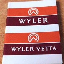 Wyler Vetta Parts/Accessories new