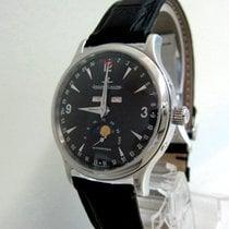 Jaeger-LeCoultre Acero Automático Negro Sin cifras 37mm usados Master Calendar