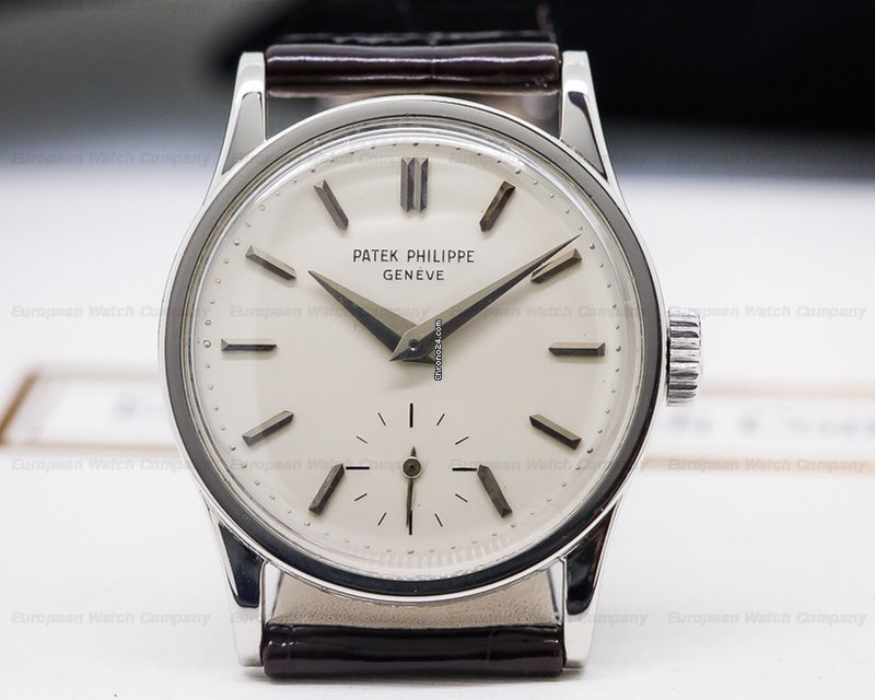 Patek Philippe 96 Calatrava 96 Stainless Steel (24567) for $12,500 for sale  from a Trusted Seller on Chrono24