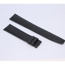 IWC Original Black Leather Alligator Band 18/16mm