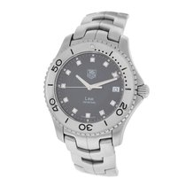 TAG Heuer Men's Tag  Link WJ1113-0 Stainless Steel Diamond...