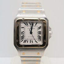 Cartier Santos Galbée XL 18k Gold Steel