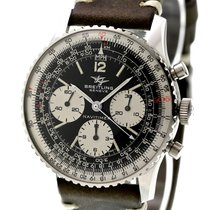 Breitling Vintage Navitimer Chronograph Ref-806 Stainless...