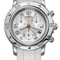 Hermès NEW CP24102201/C5/00 Clipper Chronograph Diver @ KENJO NYC