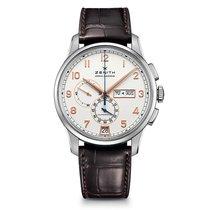 Zenith El Primero Winsor Annual Calendar nuevo 2015 Automático Cronógrafo Reloj con estuche y documentos originales 03.2072.4054/01.C711