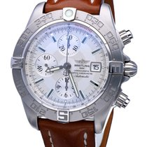 Breitling Galactic 44 Steel 44mm Silver No numerals