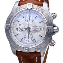 Breitling Galactic 44 Acero 44mm Plata Sin cifras