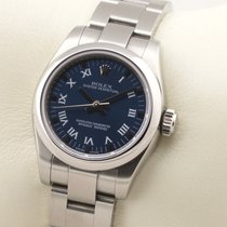 Rolex Oyster Perpetual 26 Steel 26mm Blue