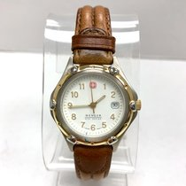Wenger S.A.K. Design Quartz Gold Plated & Steel Ladies Watch...