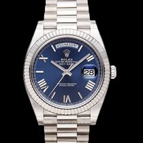 Rolex Day-Date 40 White gold United States of America, California, San Mateo