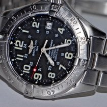 Breitling Superocean Steel 42mm Black Arabic numerals United States of America, New York, Greenvale