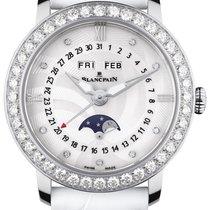 Blancpain Villeret Moonphase neu 2020 Automatik Uhr mit Original-Box 3663A-4654-55B