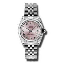 Rolex Lady-Datejust Steel 31mm Pink Roman numerals United States of America, Pennsylvania, Holland