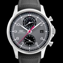 IWC Portuguese Yacht Club Chronograph Steel 43.5mm Black United States of America, California, San Mateo