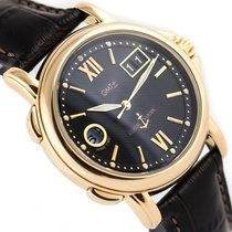 Ulysse Nardin 40mm Automatic pre-owned Dual Time Black