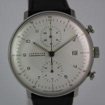 Junghans max bill Chronoscope #A3518 Box, Papiere