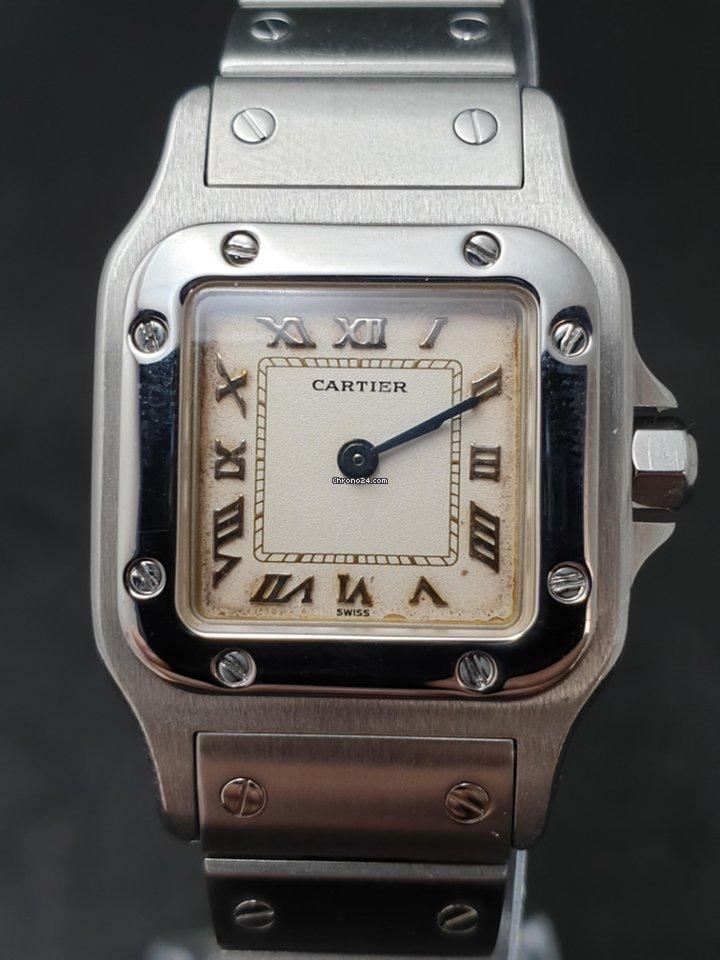 Hodinky Cartier Santos Galbée  445c83e191
