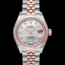 Rolex Lady-Datejust Rose gold 28mm Mother of pearl United States of America, California, San Mateo
