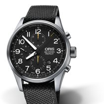Oris Big Crown ProPilot Chronograph Steel 44.00 mmmm Black United States of America, Georgia