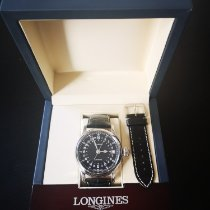 Longines Twenty-Four Hours Steel 47.5mm Black Arabic numerals