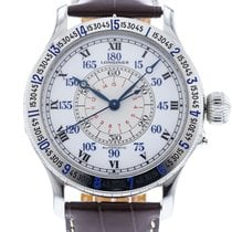 Longines Lindbergh Hour Angle Steel 47.5mm White United States of America, Georgia, Atlanta