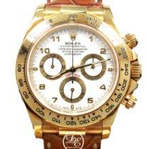 Rolex 116518 Or jaune Daytona 40mm occasion