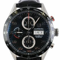 TAG Heuer Carrera Calibre 16 Steel 43mm Black United States of America, New York, Smithtown