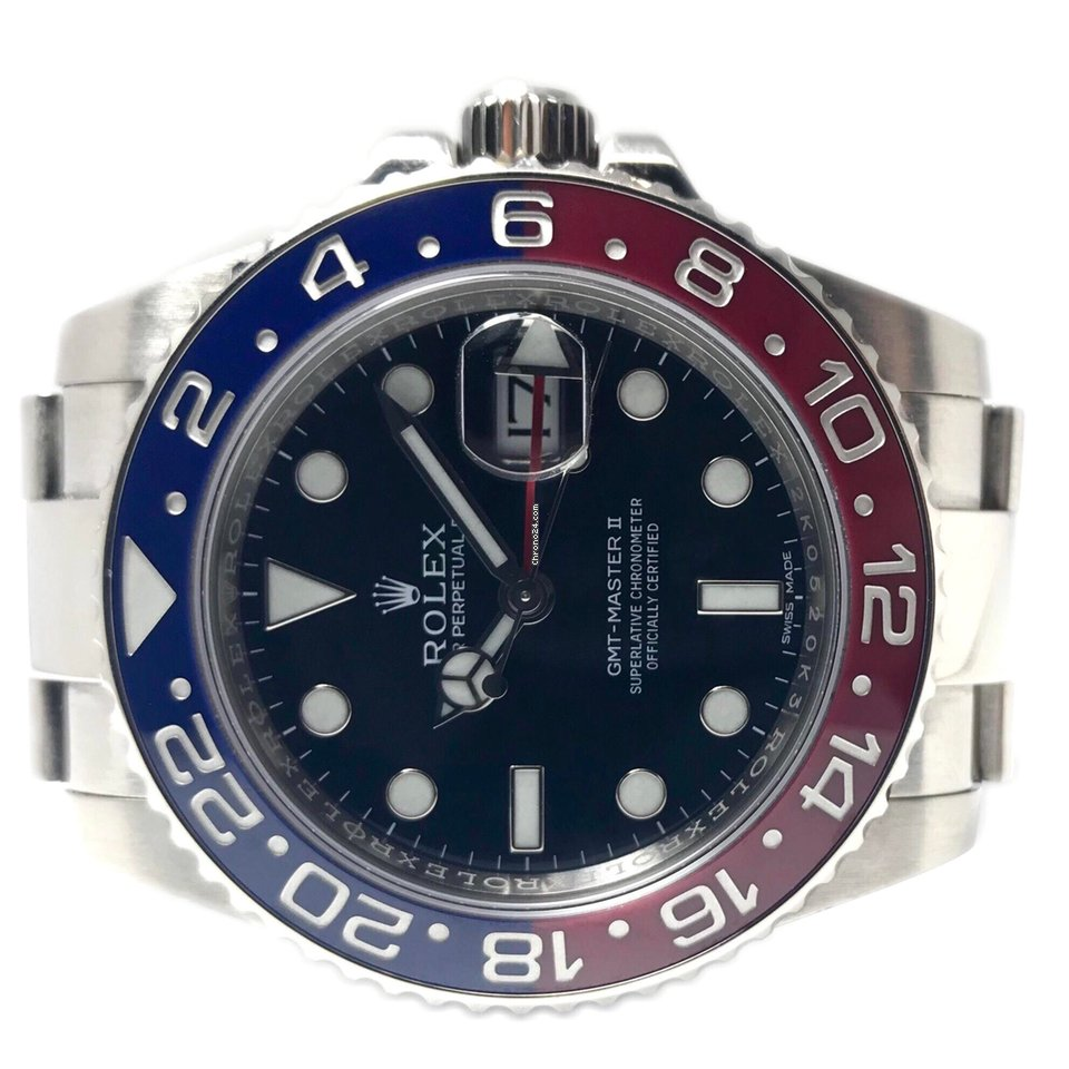 Rolex GMT-Master II 116719BLRO 2015 pre-owned