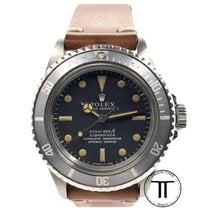 Rolex Submariner (No Date) Steel 39.5mm Black No numerals