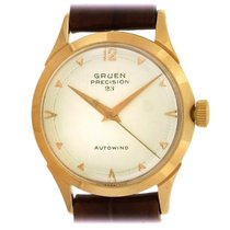 Gruen Rose gold Automatic Precision pre-owned