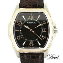 Seiko Credor Gold/Steel 38mm Black