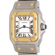 Cartier Santos Galbée Steel 24mm White Roman numerals United States of America, Texas, Dallas