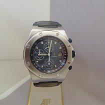 Audemars Piguet Royal Oak Offshore Chronograph Stahl 42.5mm Blau Schweiz, Crans Montana