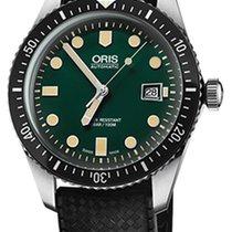 Oris 01 733 7720 4057-07 4 21 18 Steel 2019 Divers Sixty Five 42mm new