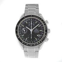 Omega Steel Automatic Black Arabic numerals 38mm new Speedmaster Day Date