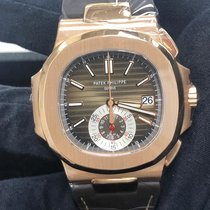 Patek Philippe 5980R-001 Rose gold Nautilus 40.5mm pre-owned United States of America, New York, Manhattan