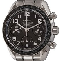 Omega Speedmaster Ladies Chronograph Steel 38mm Arabic numerals
