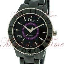 Dior VIII Ceramic 38mm Black No numerals United States of America, New York, New York