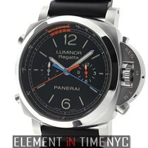 Panerai Luminor 1950 Regatta 3 Days Chrono Flyback Titanium 47mm Black Arabic numerals United States of America, New York, New York
