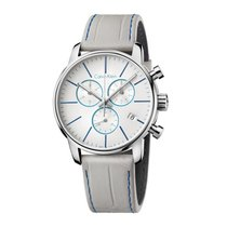 ck Calvin Klein Steel 43mm Quartz K2G271Q4 new