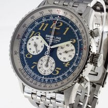 Breitling Navitimer Chronograph Stahl an Stahlband Ref.A39022.1