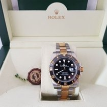 Rolex Submariner Steel and Yellow Gold Ceramic