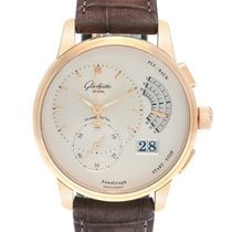 Glashütte Original 18K Rose Gold PanoGraph Mechanical Men's...