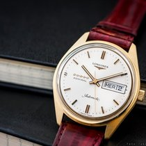 Longines Admiral Day- Date 18k Gold Vintage