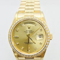 Rolex 18348 Yellow gold Day-Date 36mm pre-owned United States of America, New York, new york